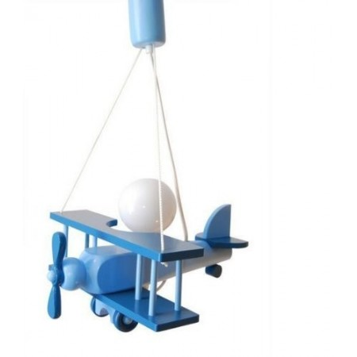 Lampadario AEREO PICCOLO azzurro/celeste per cameretta 0101.09.