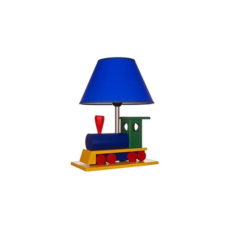 Abat jour, lampada da tavolo, como per cameretta LOCOMOTIVA, 411.20.08