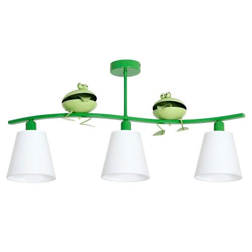 5652 Lampada, lampadario da soffitto in acciaio per la cameretta bambini Rana3.