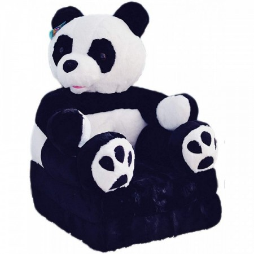 Bambi® Poltrona, poltroncina apribile, divanetto per bambini in morbido peluche. Divano e giocattolo Panda.